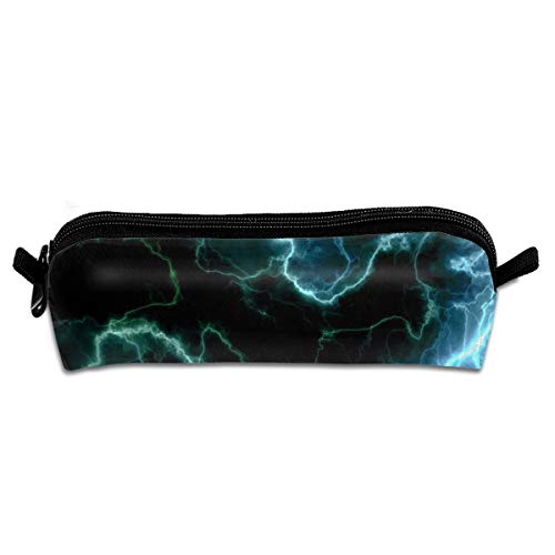 Cute Thunderstorm Lightning Multifunction Students Stationery Organizer Pouchs Box Zipper Bag Coins Purse ()