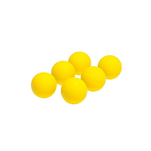 Champion Sports NOCSAE Lacrosse Ball Set, Yellow