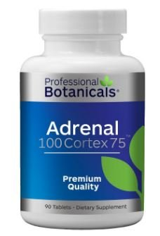 Professional Botanicals Adrenal 100 Cortex 75-90 Tablets