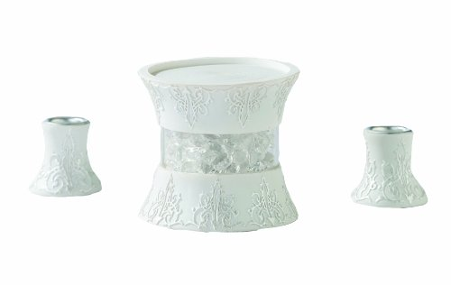 Lillian Rose 3 Piece Unity Candle Ceremony Holder Set (Candle Unity Stand)