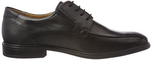 de Ragusa 51 Cordones Noir para Fretz Negro Derby Zapatos Men Hombre tSOx6qA