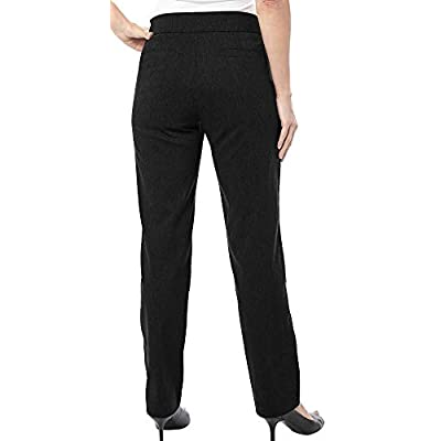 Coral Bay Petite Millennium Pull On Pants: Clothing