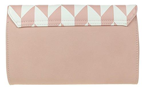 Rose femme Handbags pour Girly Pochette qBI7wZwA