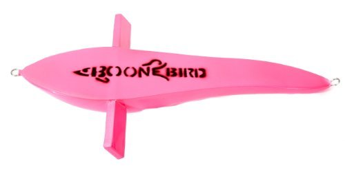 Boone Unrigged Bird Teaser, Pink, 12-Inch by Boone Outdoor Hardware ()