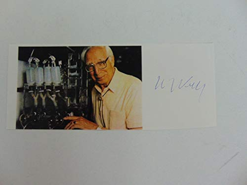 """Hemodialysis Pioneer"" Willem Kolff Hand Signed 2.5X6.5 Magazine Photo Todd Muel from Unknown"