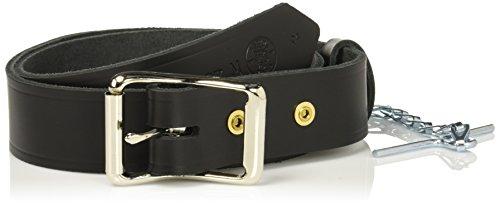Klein Tools 5207M Electrician's Leather Tool Belt, Medium