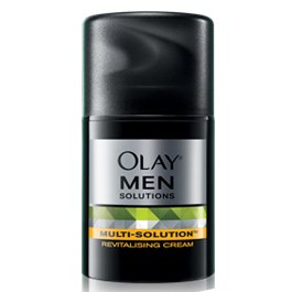 OLAY MEN Multi Solutions Revitalizing Cream for dry to normal skin 50g (Multi Solution Revitalizing Cream)