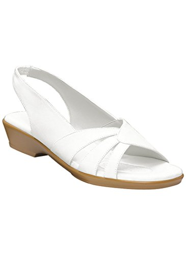 Womens Adult Sofwear By Beacon Melinda Synthetische Sandalen Een Aanvulling Op Exclusives White