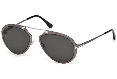 Sunglasses Tom Ford DASHEL TF 508 FT 08Z shiny gumetal / - Mens Shades Ford Tom