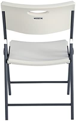 LIFETIME CONTEMPORARY COMMERCIAL FOLDING CHAIR (4 PACK), WHITE GRANITE