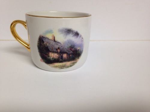 Thomas Kinkade Moonlight Cottage - Moonlight Cottage Porcelain Mug