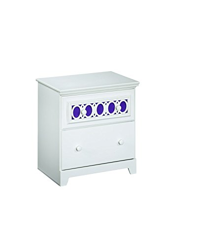Prentice 5pc Bedroom Set B672 In White By Ashley Furniture: White Nightstands & Bedside Tables