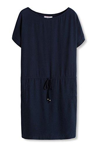 400 Navy Blau Damen Kleid ESPRIT qwAZUIn