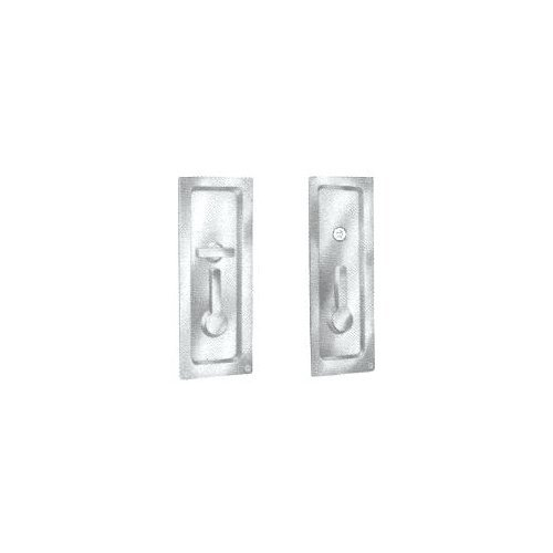 Baldwin 8580 Privacy Sliding Door Lock, Lifetime Polished Brass