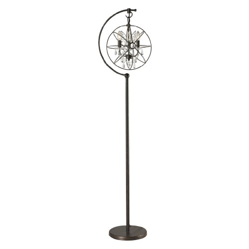 Dimond Lighting D2422 Restoration Globe Floor Lamp, 16″ x 13″ x 16″, Oil Rubbed Bronze Review