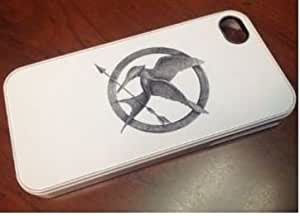 The Hunger Games Mockingjay Iphone i6 Phone Case Silicone Case Cover For SamSung Galaxy S6 ) White