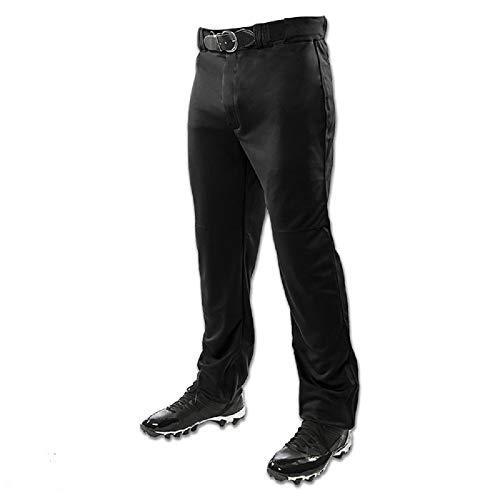 CHAMPRO Youth Triple Crown Open Bottom Pant, Black, X-Small