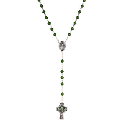 - Grasslands Road 463878 Celebrating Heritage 23-Inch Faceted Rosary Beads with 1.5-Inch Cross