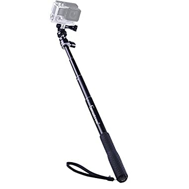 Smatree SmaPole Q1 Extendable Selfie Stick / Monopod for GoPro Hero 5/4/3+/3/2/1/Session / for Compact Cameras