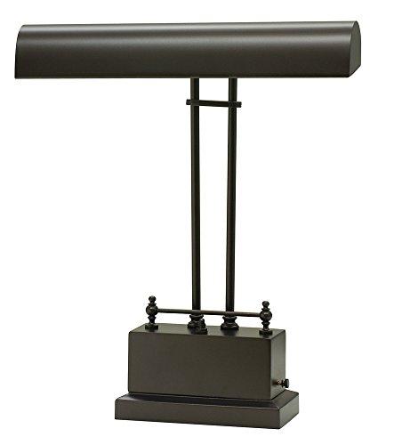 House of Troy BPLED200-81 Battery Operated LED Piano/Desk Lamp, Mahogany -