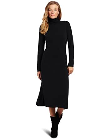 Sofie Women's Cashmere A Line Dress, Black, Small