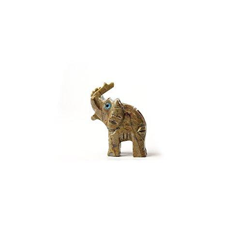 Elephant Soapstone Animal Carving | 1 piece