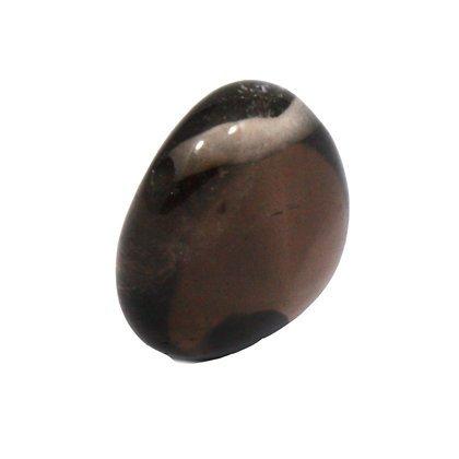 CrystalAge Smoky Quartz Drilled Tumble Stone