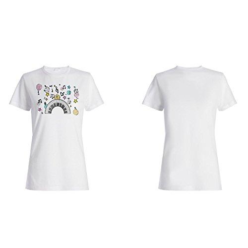 Musik Klaviertanz fantastisches Geschenk Damen T-shirt f594f