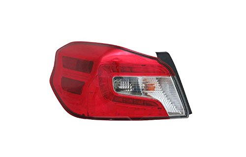 TYC 11-6808-00-1 Replacement Left Tail Lamp for Subaru WRX
