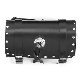 """12"""" Motorcycle Tool Bag with Concho & Studs"""