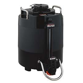 1 Gallon ThermoFresh Baseless Coffee Server (Black Décor)