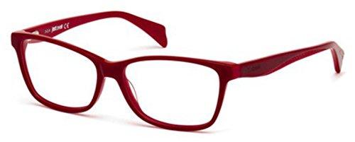 Just Cavalli - JC0712, Geometric, acetate, women, CHERRY(071 G), 54/14/140 (Just Cavalli Glasses)