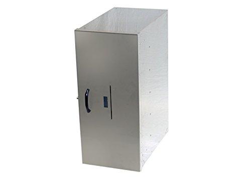 保冷可能 宅配ボックス 大型 大容量 メーカー直販 頑丈 大容量 保冷 据え置き スタンド 壁掛け 個人宅 戸建て マンション 集合住宅 セイテック 宅配ボックス 25-SUS B0746CDKD9