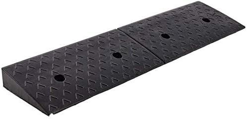 自転車上り坂パッドラバーノンスリップ車の縁石スロープ家庭用屋外のステップパッド多機能車いすスロープ簡単にキャリー 段差プレート・スロープ (Size : 98*15*3CM)