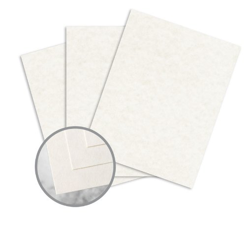 Skytone New White Paper - 8 1/2 x 11 in 60 lb Text Vellum 30% Recycled 500 per Ream