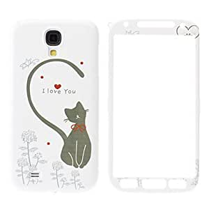 Buy Cute Cat Pattern Front and Back Case for Samsung Galaxy S4 I9500