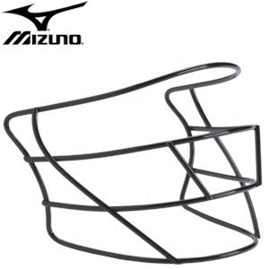 Mizuno MFM200 Baseball Batter's Face Mask (Black)