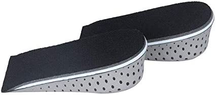 Unisex Increase Height High Half Insoles Memory Foam Shoe Inserts Cushion Pad