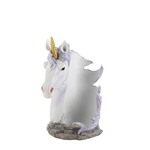 Dragon Crest 10018604 Unicorn Mane Wrapped Wine Bottle Holder, Multicolor
