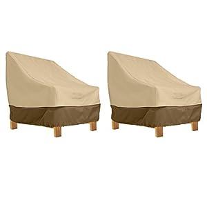 Classic Accessories Veranda Patio Deep Seat Lounge Chair Cover (2-Pack)
