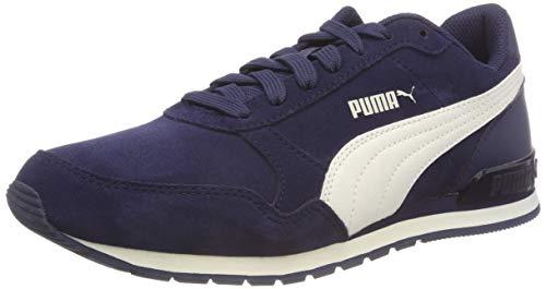 Scarpe Blu Runner Unisex Da Bambini V2 Basse White St Sd – Jr peacoat 01 Ginnastica Puma whisper Xq7Ax