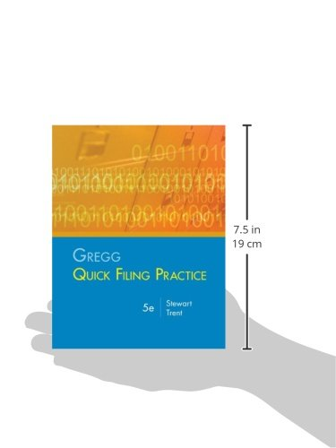 Gregg Quick Filing Practice Kit