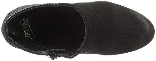 SPM Nano Ankle Boot, Zapatillas de Estar por Casa para Mujer Negro