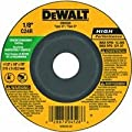 DEWALT DW4528 4-1/2-Inch by 1/8-Inch by 7/8-Inch Concrete/Masonry Cutting Wheel from DEWALT
