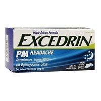 Excedrin PM Headache, 100 ea - 2pc