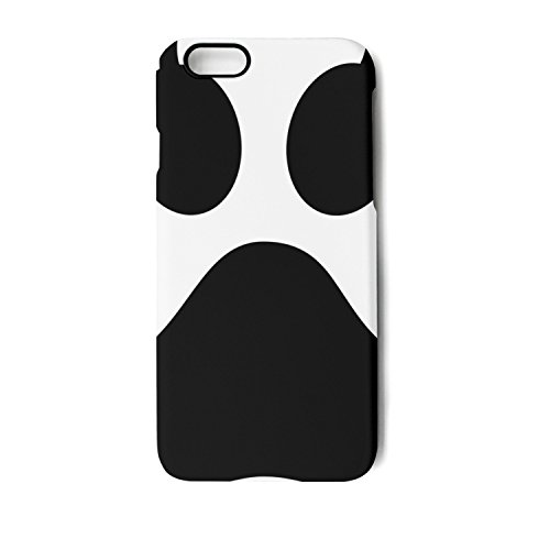 Print Clipart Dog (iPhone 7 Case iPhone 8 Case dog paw print clip art 1-01 Shock Absorption Technology Bumper Soft TPU Cover Case for iPhone 7 / iPhone 8)