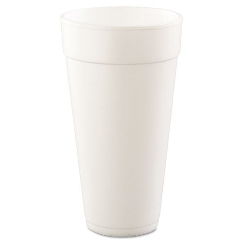 Tall Foam Drink Cup 24 Oz -- 500 Per Case. by DART