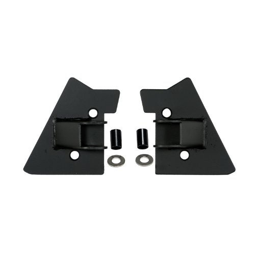 Rugged Ridge 11025.02 Black Mirror Relocation Bracket - - Brackets Ridge Mirror Rugged Relocation