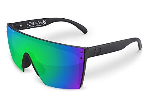 Heat Wave Visual Lazer Face Polarized Sunglasses in Piff