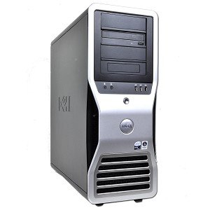 Dell Precision T7400 Workstation Dual Xeon Quad-Core E5450 3.0GHz 8GB 1x500GB 1x80GB DVD±RW No Operating System ()